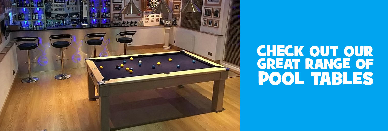 Check out our great range of pool tables