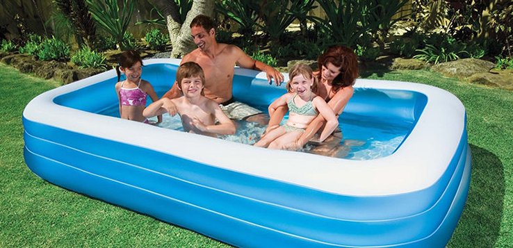 Inflatable paddling pool