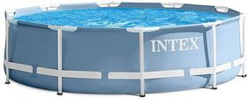 Intex Prism Metal Frame Round Pool 10ft x 30in - 28702